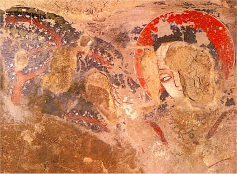 earliest paintings in Afghanistan